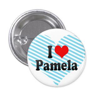 I love Pamela Pinback Button