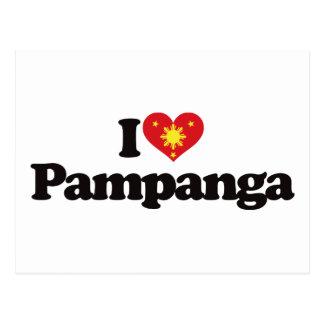 I Love Pampanga Postcard
