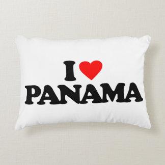 I LOVE PANAMA ACCENT PILLOW