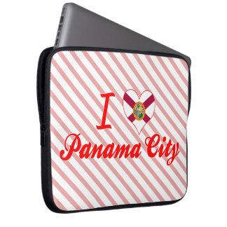 I Love Panama City, Florida Laptop Computer Sleeves