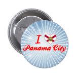 I Love Panama City, Florida Pins