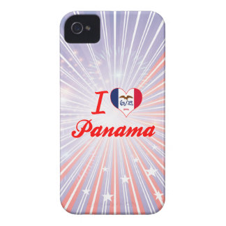 I Love Panama, Iowa iPhone 4 Case-Mate Case