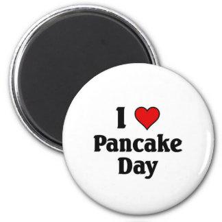 I love pancake day magnet