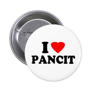 I Love Pancit 2 Inch Round Button