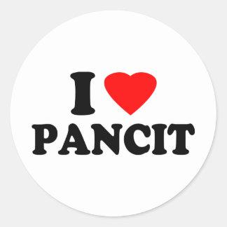 I Love Pancit Sticker