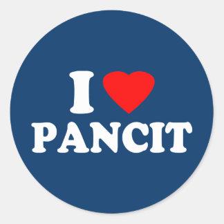 I Love Pancit Stickers