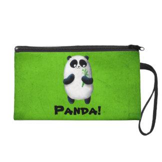 I love Panda Wristlet