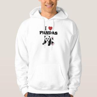 I love Panda Bears Hoodie