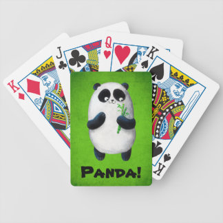 I love Panda Bicycle Playing Cards