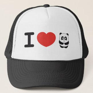 I love panda hat