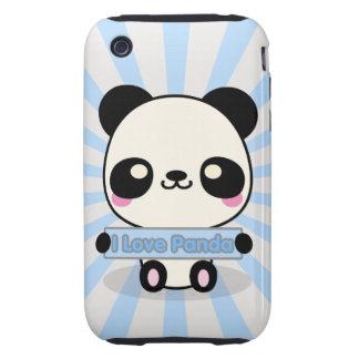 I Love Panda iPhone 3 Tough Covers