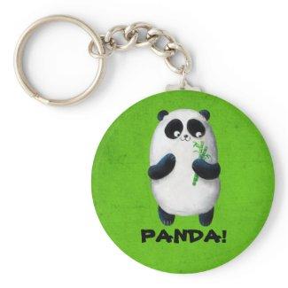 I love Panda Key Chains