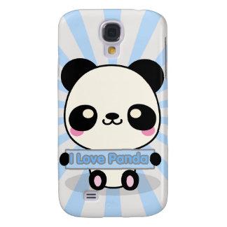 I Love Panda Samsung S4 Case