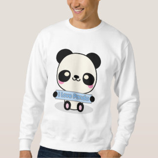 I Love Panda Sweatshirt
