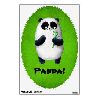 I love Panda Wall Sticker