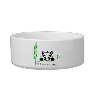 I love pandas bowl