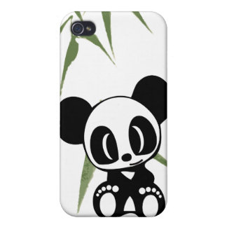 I Love Pandas Covers For iPhone 4