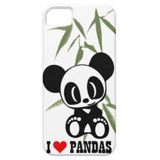 I Love Pandas iPhone SE/5/5s Case