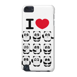 I love pandas iPod touch (5th generation) cover