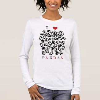 I love pandas long sleeve T-Shirt