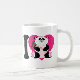 I Love Pandas Coffee Mug