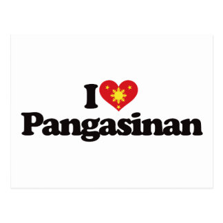I Love Pangasinan Post Cards