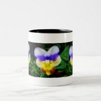 I LOVE PANSIES mug