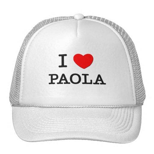 I Love Paola Trucker Hat