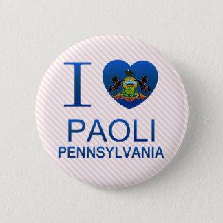 I Love Paoli, PA Pinback Button