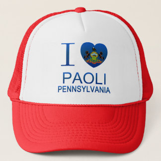 I Love Paoli, PA Trucker Hat