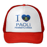I Love Paoli, PA Trucker Hat