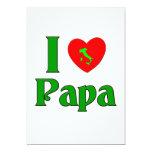 I Love Papa. Announcement