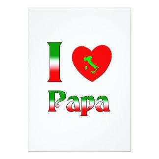 I love Papa Card
