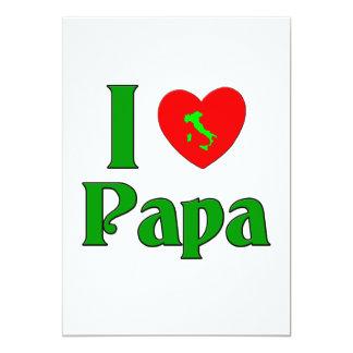 I Love Papa. Card