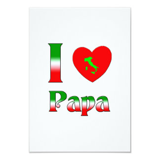 I love Papa Custom Announcement
