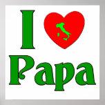 I Love Papa. Posters