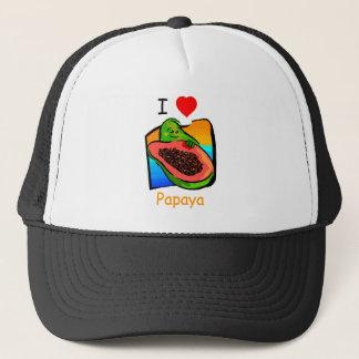 I love papaya hat