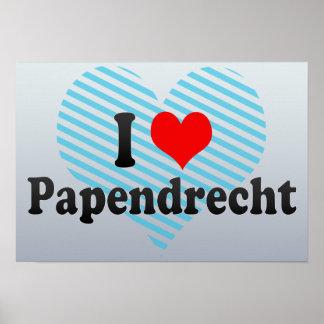 I Love Papendrecht, Netherlands Poster