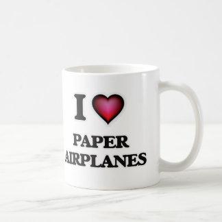 I Love Paper Airplanes Coffee Mug