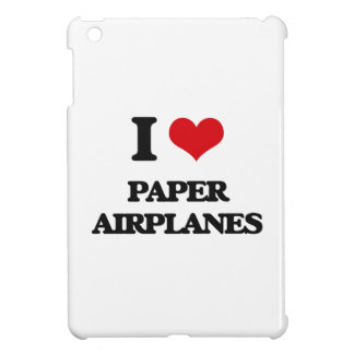 I Love Paper Airplanes Case For The iPad Mini