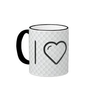 I Love Paperclip Crafts Ringer Mug