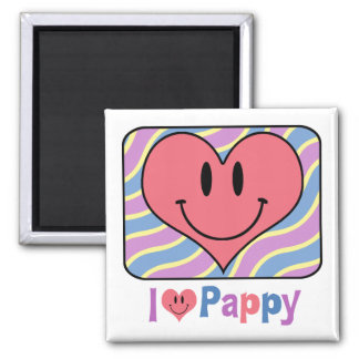I Love Pappy Magnet