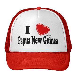 I Love Papua New Guinea Trucker Hat