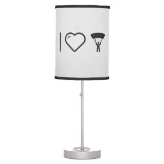 I Love Parachute Exhibitions Desk Lamp