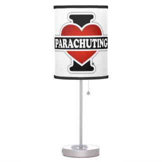 I Love Parachuting Table Lamp