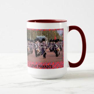 I love parades mug