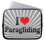 I love Paragliding Computer Sleeves