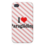 I love Paragliding iPhone 4/4S Covers