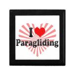 I love Paragliding Jewelry Box