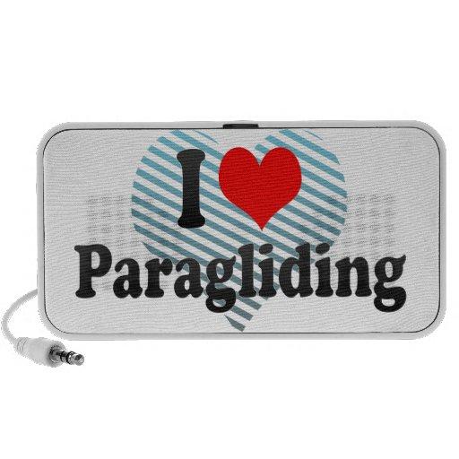I love Paragliding Mini Speaker